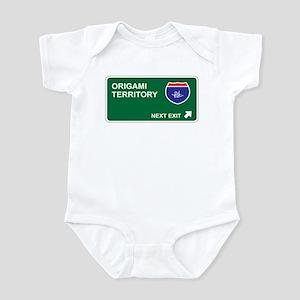 Origami Territory Infant Bodysuit