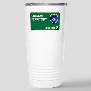 Origami Territory Stainless Steel Travel Mug