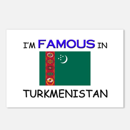 I'd Famous In TURKMENISTAN Postcards (Package of 8