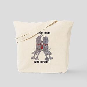 NCBlu Service Dogs Give Tote Bag