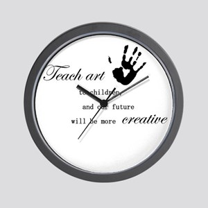 teachart1 Wall Clock