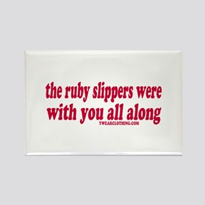 Ruby Slippers Rectangle Magnet