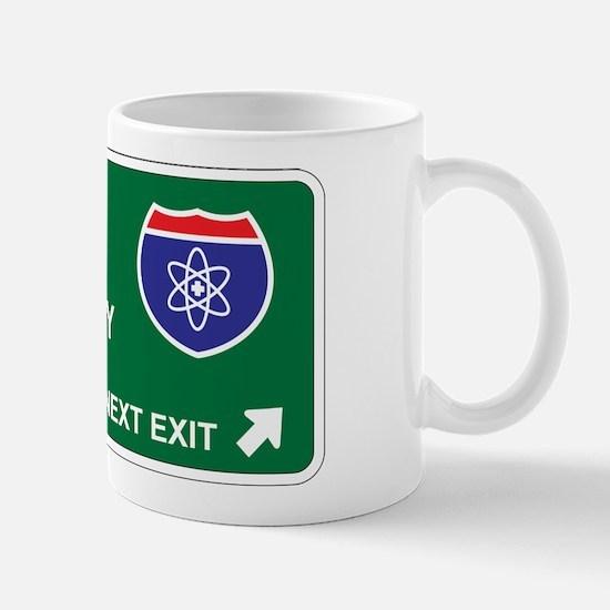 Nuclear, Medicine Territory Mug