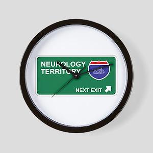 Neurology Territory Wall Clock