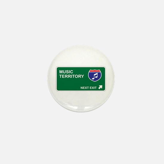 Music Territory Mini Button