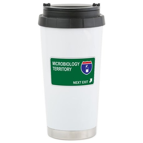 Microbiology Territory Stainless Steel Travel Mug