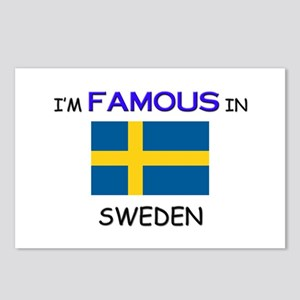 I'd Famous In SWEDEN Postcards (Package of 8)