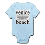 367.venice beach Infant Creeper