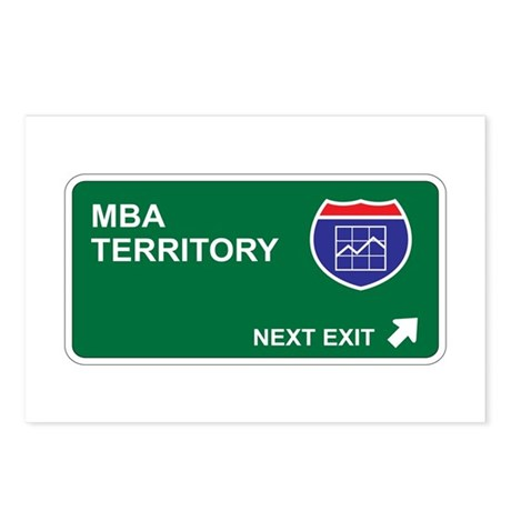 MBA Territory Postcards (Package of 8)