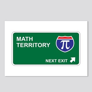 Math Territory Postcards (Package of 8)