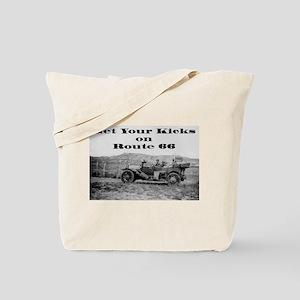 Get Your Kicks 66 Tote Bag