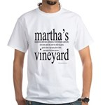 367.martha's vineyard White T-Shirt