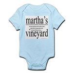 367.martha's vineyard Infant Creeper