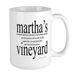 367.martha's vineyard Large Mug