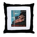 Pearl Harbor Day Throw Pillow