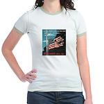 Pearl Harbor Day Jr. Ringer T-Shirt
