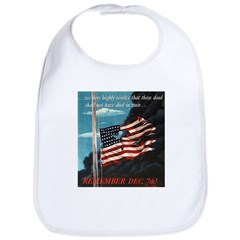 Pearl Harbor Day Bib