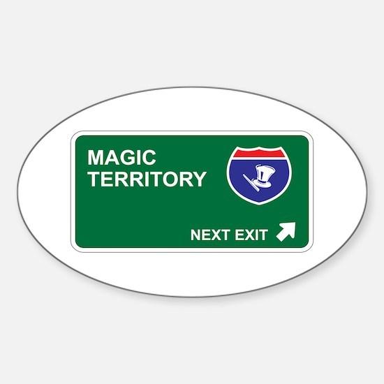 Magic Territory Oval Decal
