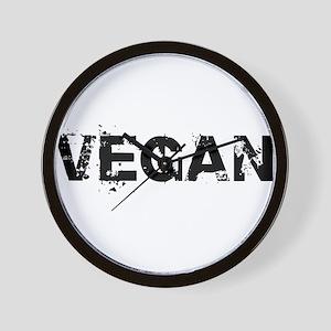 Vegan T-shirts Wall Clock