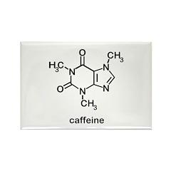 Caffeine Molecule Rectangle Magnet (10 pack)