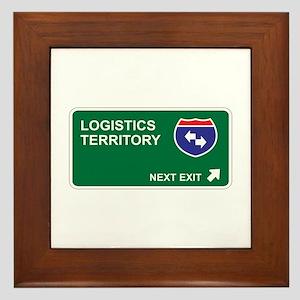 Logistics Territory Framed Tile