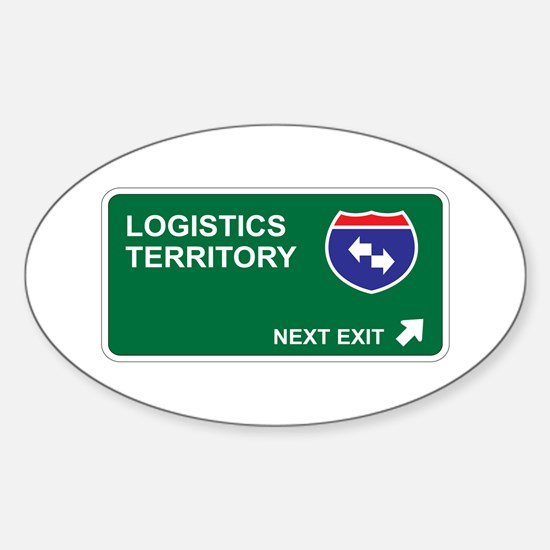 Logistics Territory Oval Decal
