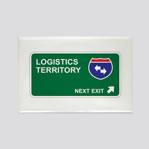 Logistics Territory Rectangle Magnet