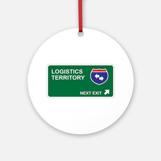 Logistics Territory Ornament (Round)