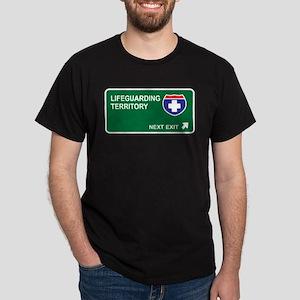 Lifeguarding Territory Dark T-Shirt