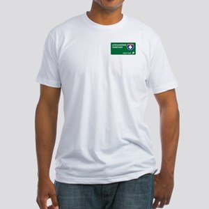 Lifeguarding Territory Fitted T-Shirt