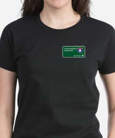 Lifeguarding Territory Women's Dark T-Shirt
