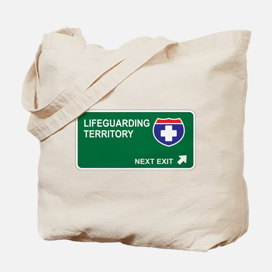 Lifeguarding Territory Tote Bag