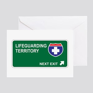 Lifeguarding Territory Greeting Card