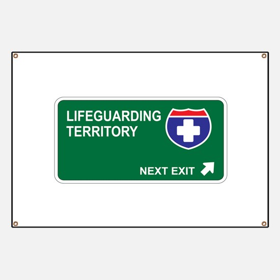 Lifeguarding Territory Banner
