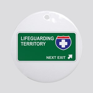 Lifeguarding Territory Ornament (Round)