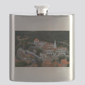 National Palace, Sintra, Portugal Flask
