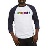 Got ASL? Rainbow Baseball Jersey