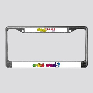 Got ASL? Rainbow License Plate Frame