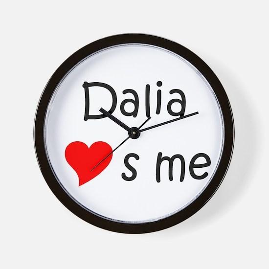 Cute Dalia Wall Clock