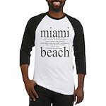 367.miami beach Baseball Jersey