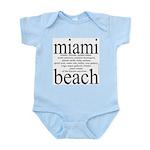 367.miami beach Infant Creeper