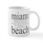 367.miami beach Mug