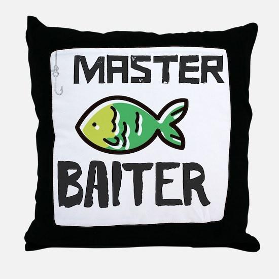 Cute Bait Throw Pillow