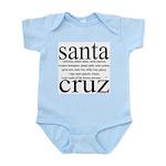 367.santa cruz Infant Creeper