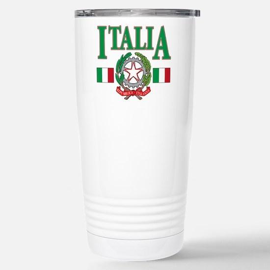 Italian pride Stainless Steel Travel Mug