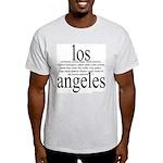 367. los angeles Ash Grey T-Shirt