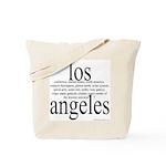 367. los angeles Tote Bag