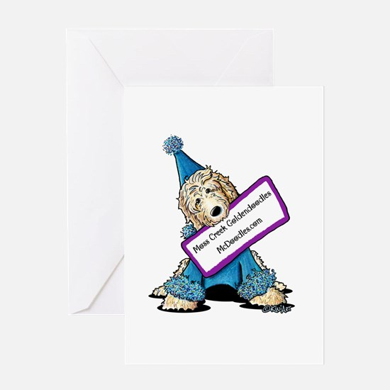 McDoodles Jordan Clown Greeting Card