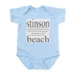 367. stinson beach Infant Creeper