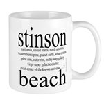 367. stinson beach Mug